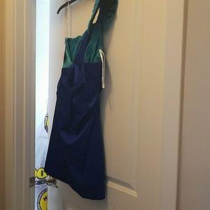 A one hand mini dress